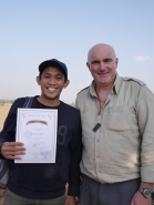 Yeay! I got certificate!