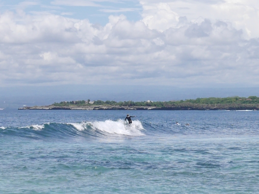 Surfing at Secret Point
