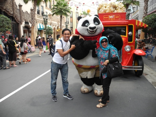 Me, Mom, and Po.