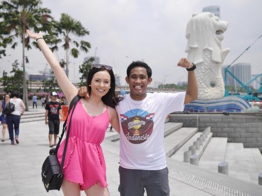 Me & Brooke Saward, the prettiest travel blogger I've ever met.
