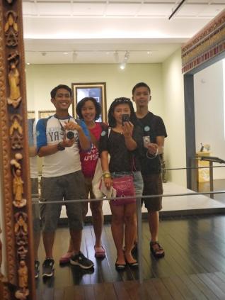 Selfie at Peranakan Museum