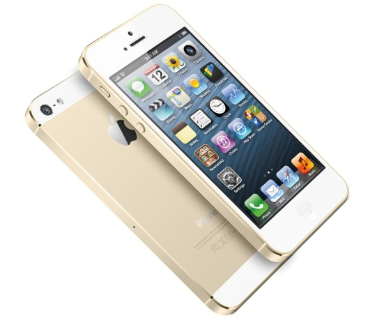 iPhone 5s, with 64GB internal storage.