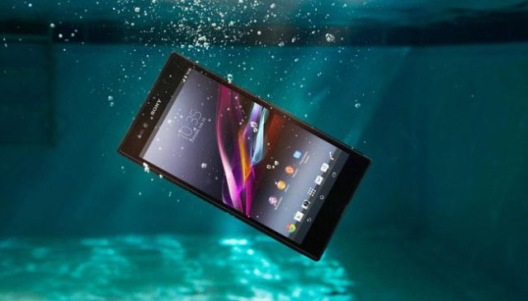 Sony Xperia Z2, you can dive up to 1,5 metres for 30 minutes with it.