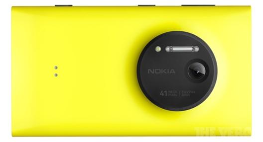 Nokia Lumia 1020, with 41 megapixel camera.