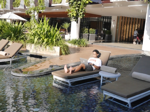 Relax and find the topic, --taken at The Stones Hotel, Legian, Denpasar, Bali.