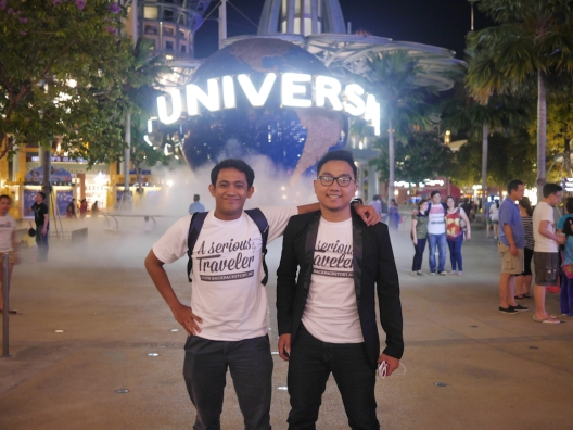 Duo Serious Traveler at USS!