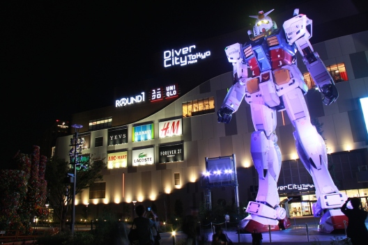 Gundam at Odaiba
