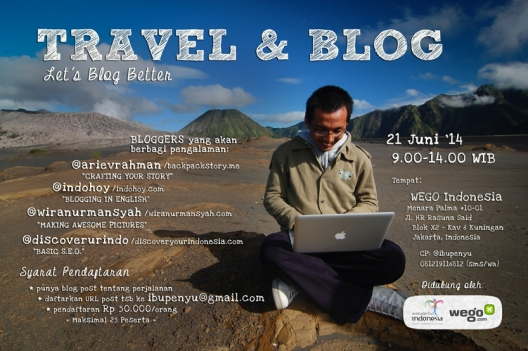 Poster Travel n Blog