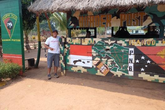 Pos Perbatasan Indonesia - PNG