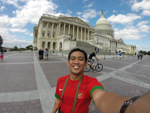 Selfie at The Capitol