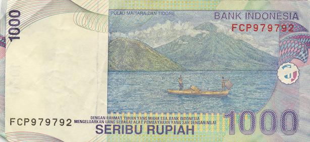 Uang Kertas 1000 Rupiah