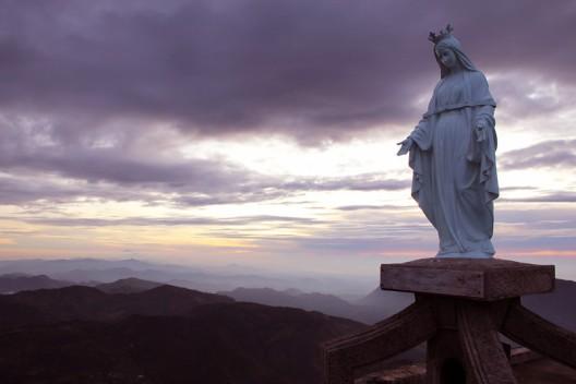 Mt. Ramelau at dawn