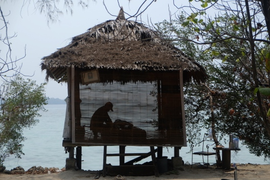 Massage at Pulau Macan