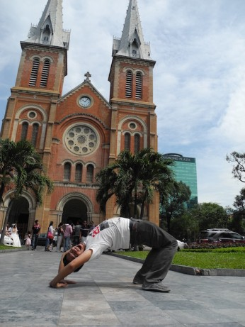Notre Dame Catedral Vietnam