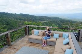 Mamah Wiwik, relaxing like a boss' boss.