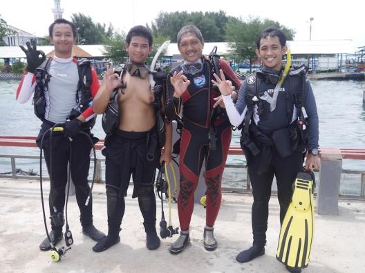Diving Pramuka