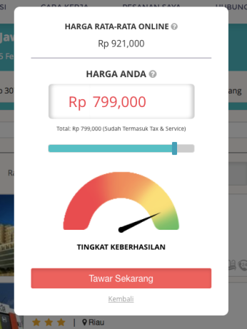 Booking Travelio