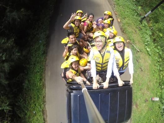 Rafting Cisadene