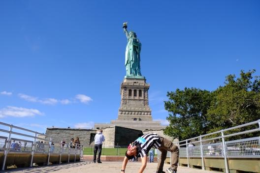 Kayang di Liberty