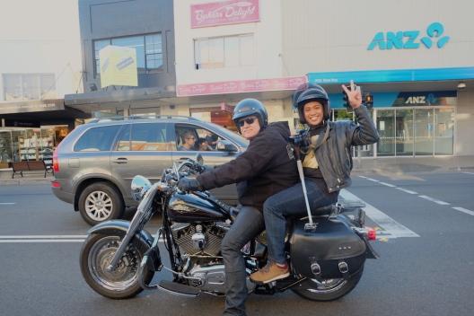 Sydney's Harley Tour