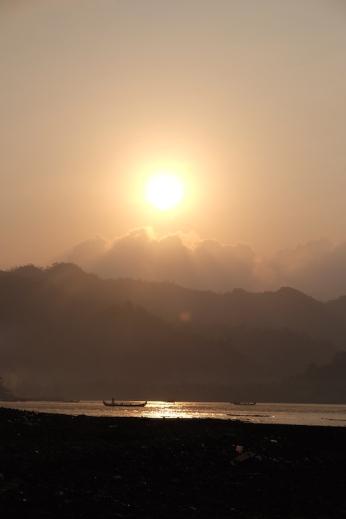 Misty morning at Kiluan