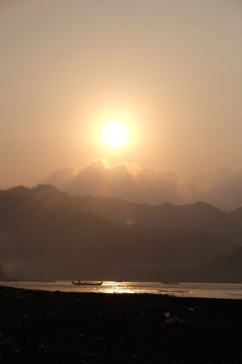 Misty morning at Kiluan