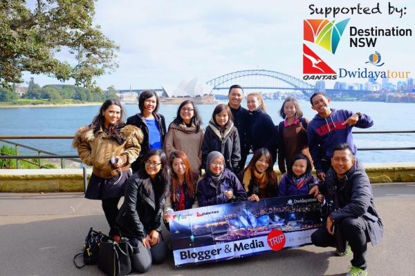 Dwidayatour Trip to Sydney