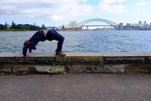 Kayang di Sydney