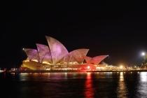 Sydney Opera House at Vivid