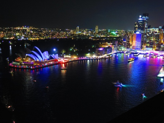 Sydney Bridge Climbing Vivid