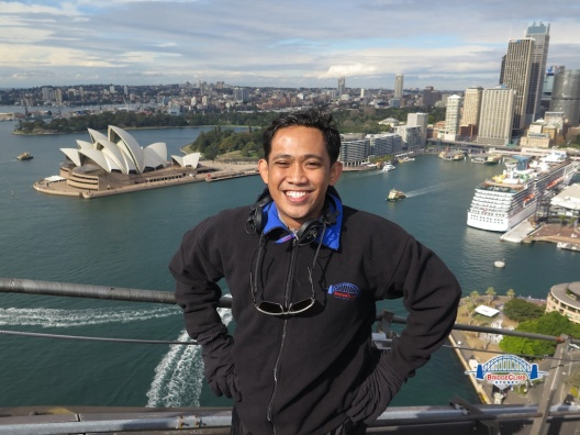 Sydney Bridge Climbing