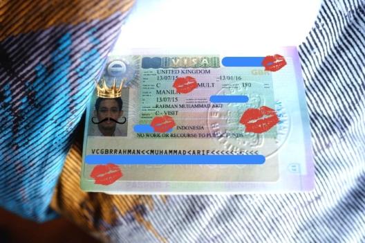 Foto Visa UK