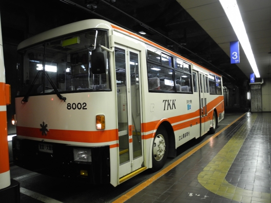 Tateyama Tunnel Trolley Bus
