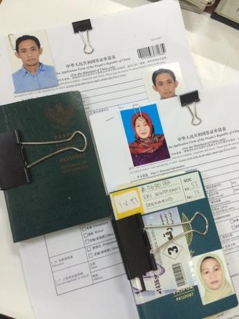 Dokumen Kelengkapan Visa Cina