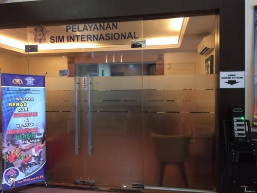 Pelayanan SIM Internasional