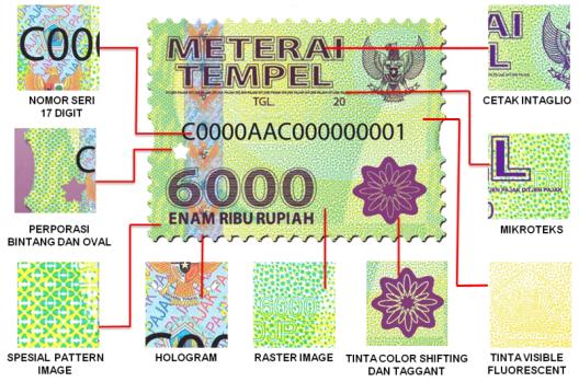 meterai-6000