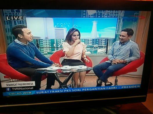 Semangat Pagi TVRI April 2016