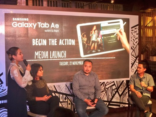 Launching Samsung Galaxy Tab A - Begin The Action