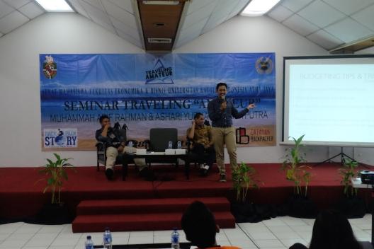 Seminar Traveling Atmajaya