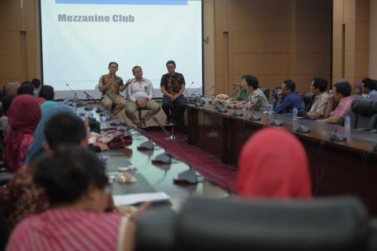 Mezzanine Club Kementerian Keuangan