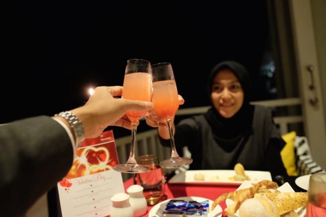 Romantic dinner at Sheraton Bandung