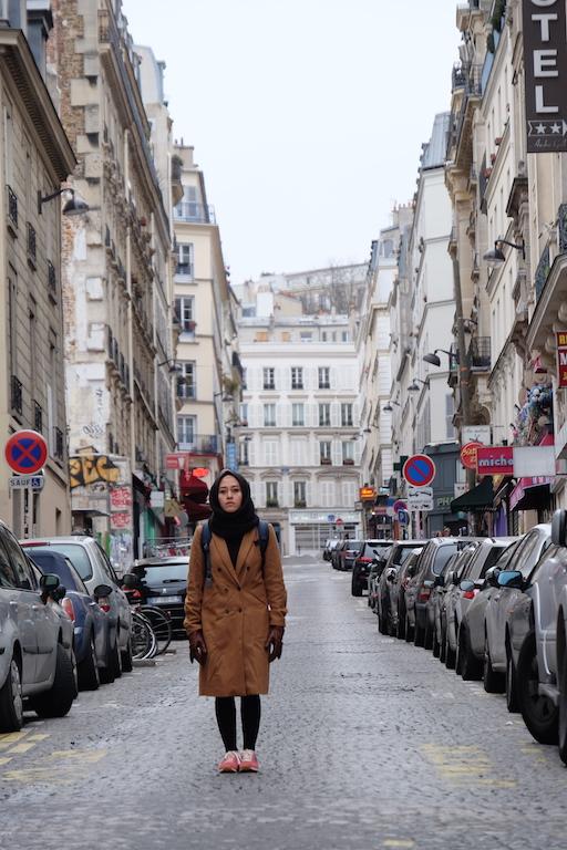 Tourist at Paris