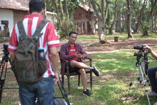 Shooting for Smartfren
