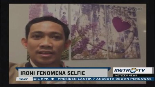 Metro Today Fenomena Selfie Februari 2016