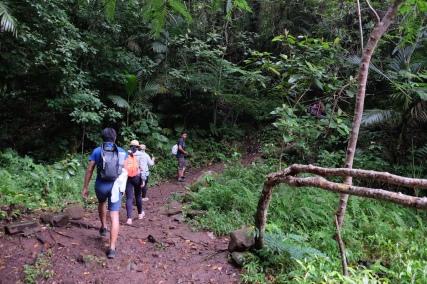 Trekking to Wae Rebo