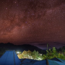 Milky Way over Moni