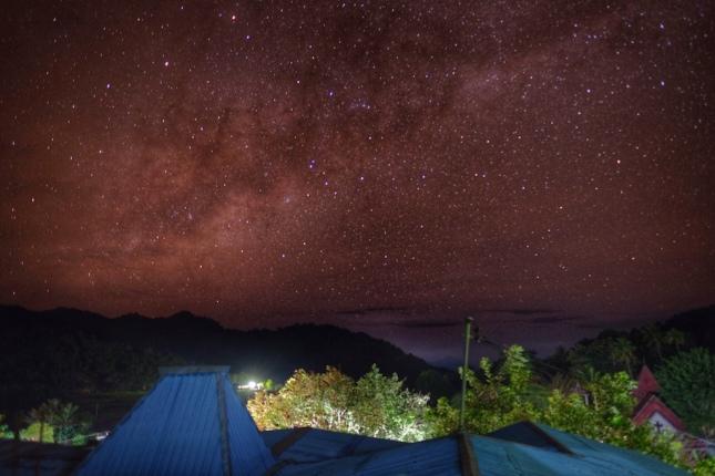 Milky Way over Moni