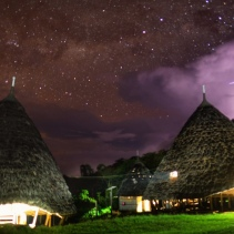 Milky Way over Wae Rebo