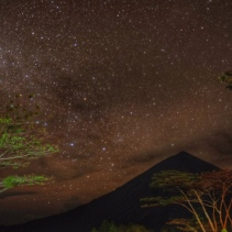 Milky Way over Bajawa