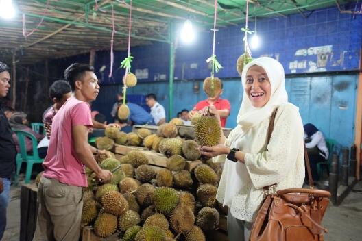 Durian Pasar Kuto Palembang
